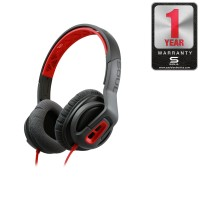 TRANSFORM Superior Active Performance On-Ear Sport Headphone SOUL Red