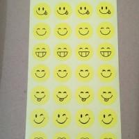 Sticker reward -stiker emo smiley happy bulat guru murid hadiah anak