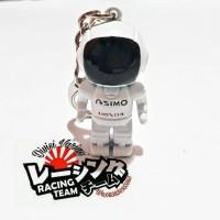 Gantungan Kunci Keychain JDM ASIMO Honda Robot Astronot