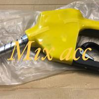 nozzle gun 3/4 inch dispenser pertamina spbu pom bensin PREMIUM KUNING