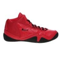 Sepatu Basket League Levitate Red Black Original