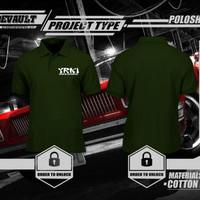 Poloshirt/Kaos Polo YRKI Indonesia Logo Murah