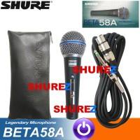 SHURE BETA 58A SWITCH MIK/MIC/MIKROFON/MICROPHONE KABEL 58/58 A