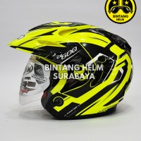Helm NHK Aviator CBR 600 Yellow Fluo