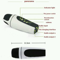 3.5mm Mini Singing Karaoke Microphone Mic HP (Iphone/Sa Diskon