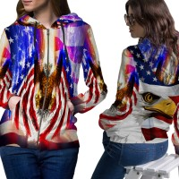 Jaket Hoodie Sweater Wanita AMERICAN EAGLE 3D FullPrint Zipper 01