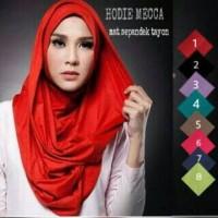 Jual hijab jilbab kerudung instan LONG HOODY MECCA/LONG HANA Murah
