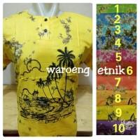 Harga baju bali pantai hawai etnik warna dewasa maxi xl | antitipu.com