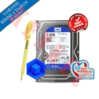 "WD Blue 1TB SATA Harddisk Internal PC 3.5"" + Pen"