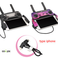 KABEL OTG Lightning USB for IPHONE DJI SPARK / Mavic