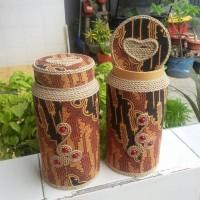 Jual celengan botol batik unik Murah