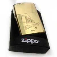 Jual ZIPPO DENTING 2X GOLD INCLUDE BOX|MURAH|PROMO Murah