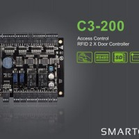 Access Controller Board Murah, C3-200, 4 Wiegand, 2 Doors