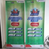 harga Rangka Roll Up Banner 120 X 200 Cm Kaki Stainless Tokopedia.com