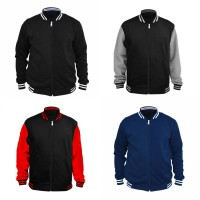Jual Jaket / sweater Baseball Varsity Basic Polos Murah
