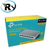 Tp-Link Desktop Switch 8-Port 10/100mbps - TL-SF1008D - White Promo