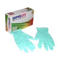 Nitrile Gloves Teal box isi 100pcs
