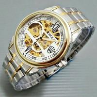 Jual Jam Tangan Rolex Automatic / Otomatis Rantai Combi Gold Murah