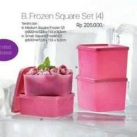 Jual frozen square set Tupperware Murah