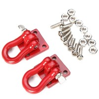 Aluminium Buckle Hook Tow Shackle for MN90 MN99S MN99 WPL C34 C24