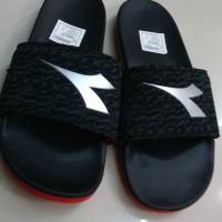 Sandal DIADORA NEW ARRIVAL Black Red Silver