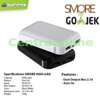 Jual Hippo Smore 9000 mAh SP Simple Pack Powerbank Bagus Tahan Kuat Murah Murah