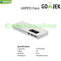 Hippo Faro 15000 MAH SP Simple Pack Power Bank Bagus Kuat Tahan Murah