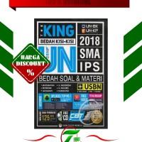 THE KING BEDAH KISI-KISI UN 2018 SMA IPS (BEDAH SOAL & MATERI) + CD