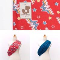 Jual Gendongan Kaos Mere Et Moi GEOS Reversible Premium Baby Pouch Sling Murah