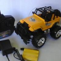 Mobil Remot Control JEEP WRANGLER Skala 1:24 Mainan RC
