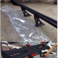 spoiler /sayap bagasi GT WING dobel layer bisa untuk semua mobil sedan