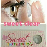 SOFTLENS TUTTY FRUITY SWEET (CLEAR)