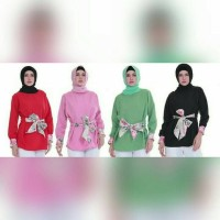 Blouse vitalia Balotelli (ONLY ATASAN) no jilbab