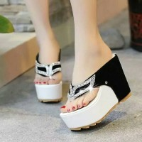 Jual EXCLUSIVE WEDGES 12CM SEXY LACE FOX Murah
