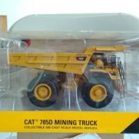 diecast miniatur alat berat norscot caterpillar 785D dump truck 1:50