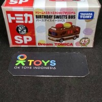 804567 - tomica dream SP birthday sweets bus (tomica shop edt.)