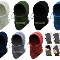 Balaclava Polar Masker Kupluk Scraff Ninja Multifungsi Premium