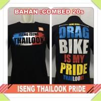 kaos oblong racing iseng iseng thailook drag bike is my pride 201m