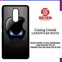 Casing LENOVO K6 NOTE wallpaper Apple Eyes Custom Hard Case Cover