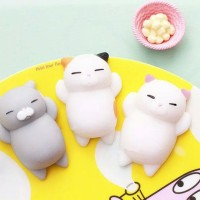 squishy murah kucing cat gendut case anticrack mochi be Limited