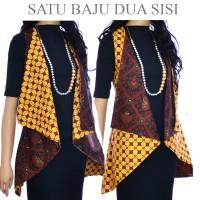 Jual Tunik vest Cardigan Batik atasan bolero A431A433 Murah