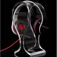 Jual Universal Stand Holder Acrylic Display Headphone Headset Gaming Gamer Murah