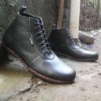 Jual sepatu boot kulit pria yonkers brodo Murah