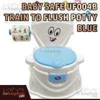 BabySafe UF 004B Toilet Pispot Training Anak + Musik Blue Biru Jamban