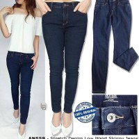 Jual F102  ANA Stretch Denim Low Waist Skinny Jeans BRANDED ORIGINAL Murah