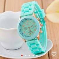 TERLARIS   Jam tangan wanita / cewek Geneva Jtr 048 tosca   TERMURAH