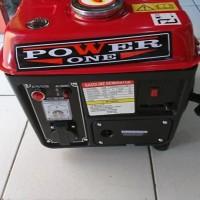 harga (gojek) Genset Generator 650 Watt Power One Po 1300 Tokopedia.com