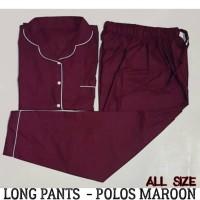 Baju Tidur Piyama Dewasa - Polos Long Pants Pajamas