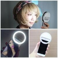 Jual Selfie Ring Light Lampu Led Selfie untuk Handphone Murah