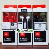 Jual Earphone JBL C100SI with Mic Original - Garansi Resmi IMS - Headset Murah